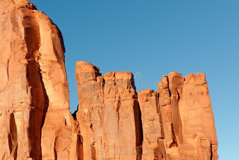 Rochas do vale do monumento fotografia de stock royalty free