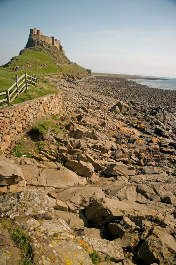 Rochas e castelo imagem de stock royalty free