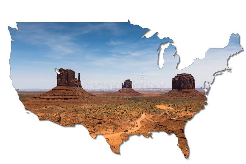 Rochas no parque tribal do navajo do vale do monumento, o Arizona, EUA fotos de stock royalty free