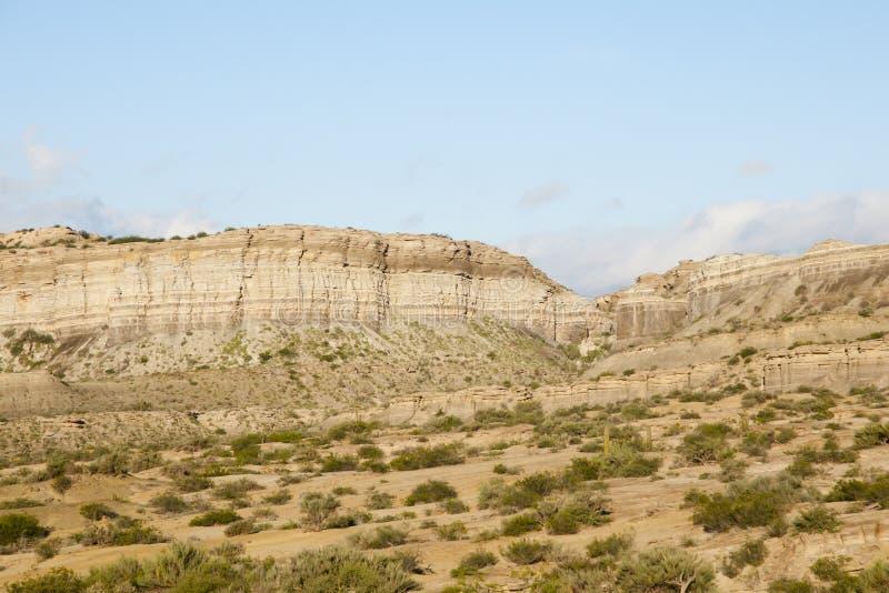 Rochas sedimentares - Catamarca - Argentina foto de stock