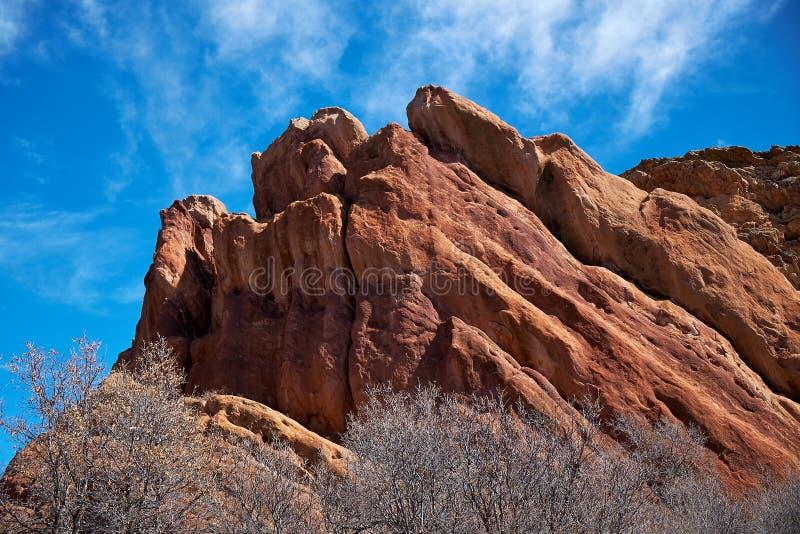Rochas vermelhas de Colorado imagem de stock