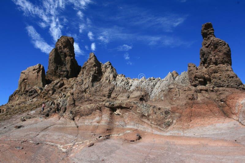 Rochas vulcânicas fotografia de stock