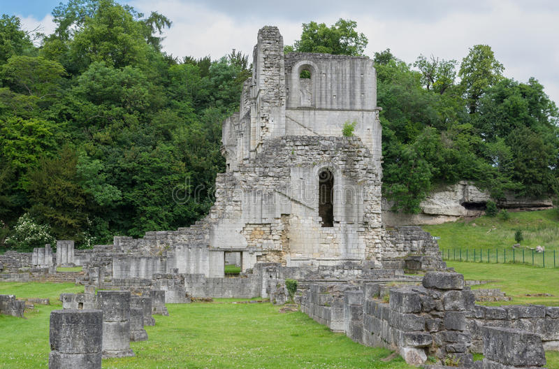 Roche Abbey, Maltby, Rotherham, England. The Ruins of Roche Abbey in Maltby, Rotherham, England royalty free stock image