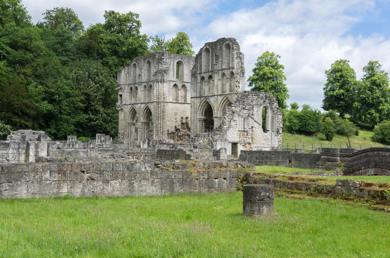 Roche Abbey, Maltby, Rotherham, England. The Ruins of Roche Abbey in Maltby, Rotherham, England stock photography