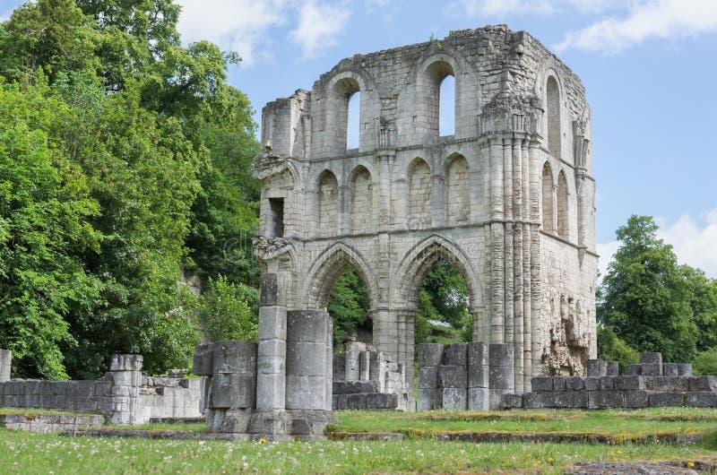 Roche abbotskloster, Maltby, Rotherham, England royaltyfria foton