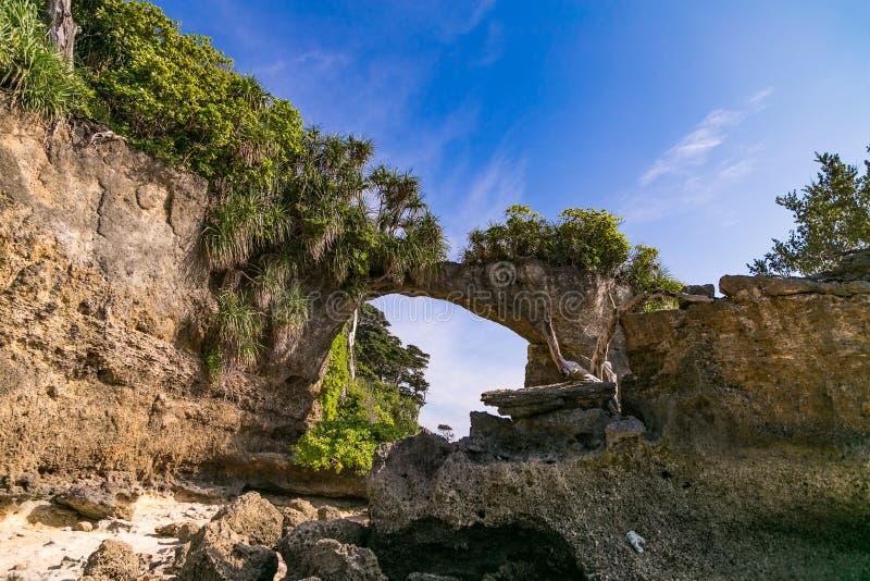 Roche d'île de Neills photographie stock libre de droits