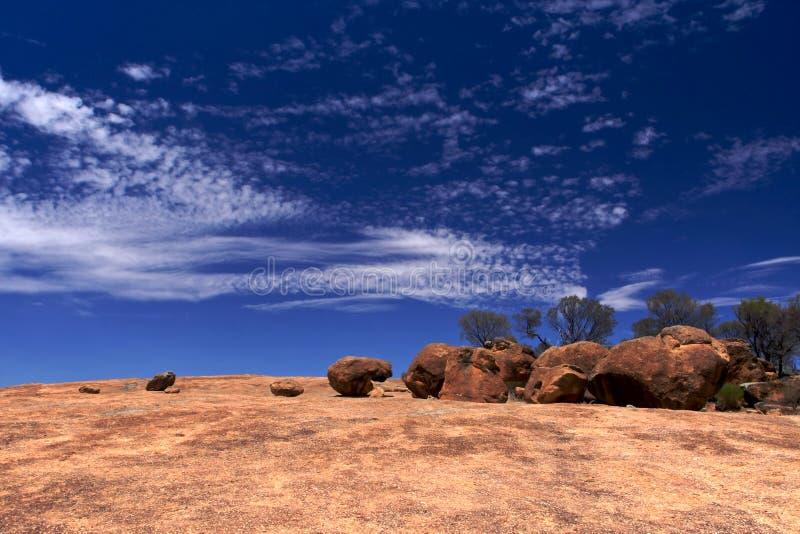 Roche d'onde dans l'Australie occidentale images stock