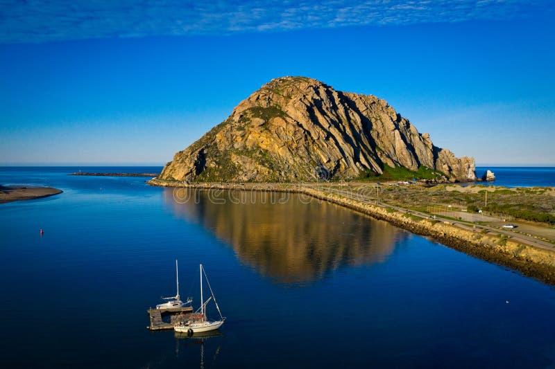 Roche de baie de Morro photo stock