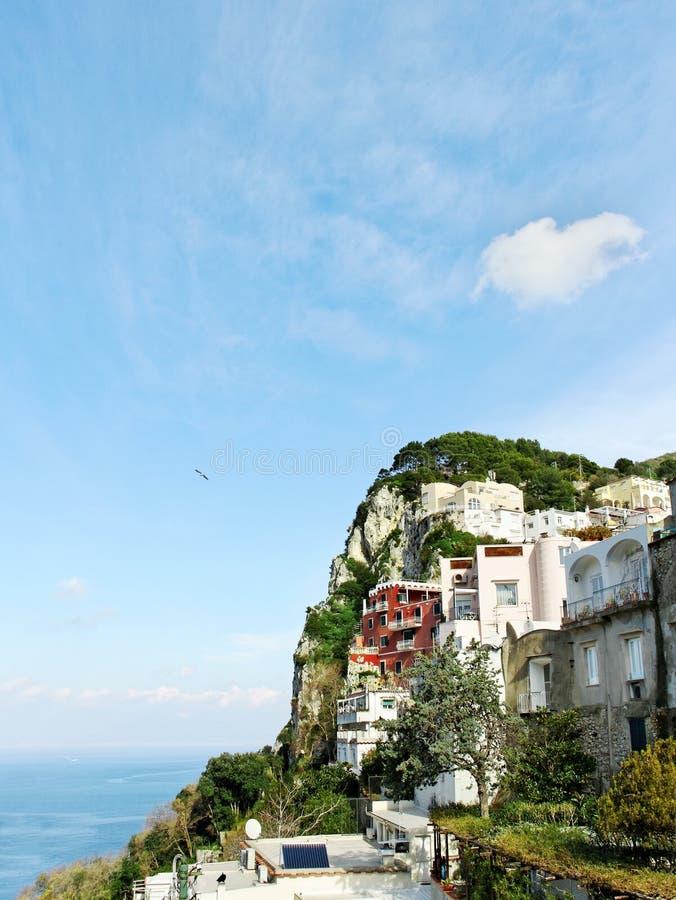 Roche de Capri. photographie stock libre de droits