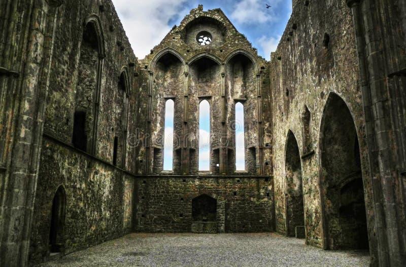 Roche de Cashel - intérieur image stock