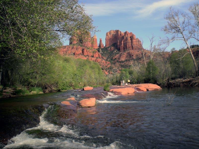 roche de cathédrale photos stock