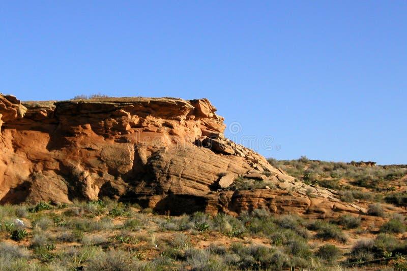 Roche de désert photographie stock libre de droits