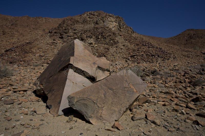Roche de dolomite, stationnement national de Richtersveld. photo stock
