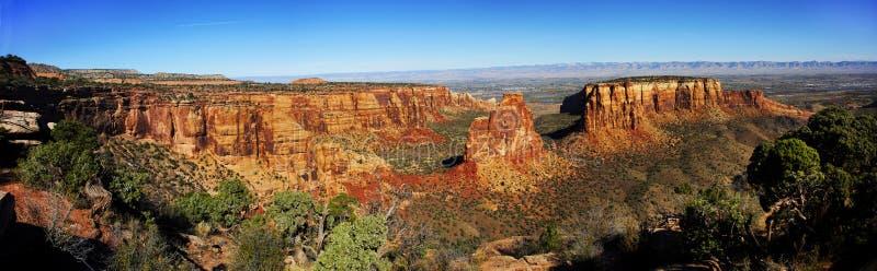 Roche de l'indépendance, monument national du Colorado photographie stock libre de droits
