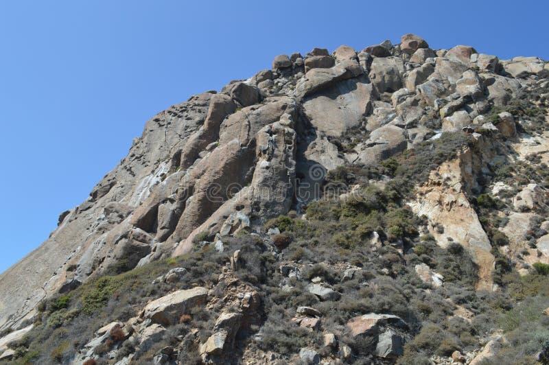Roche de Morro à la baie la Californie de Morro photo stock