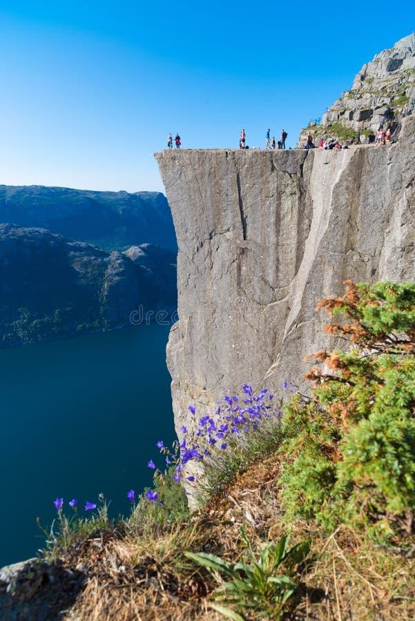 Roche de pupitre en Norv?ge photo libre de droits