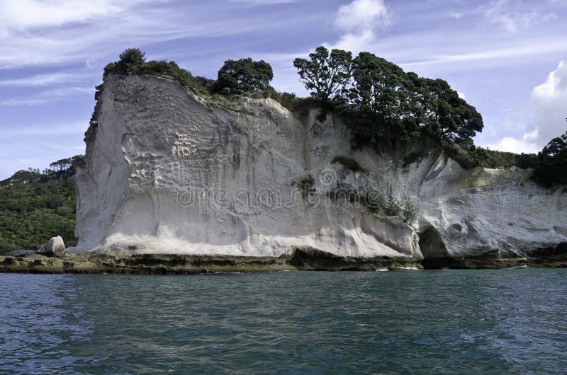 Roche de Shakespeare, Nouvelle Zélande photo libre de droits