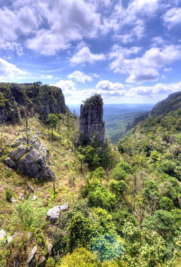 Roche de sommet, Mpumalanga image stock