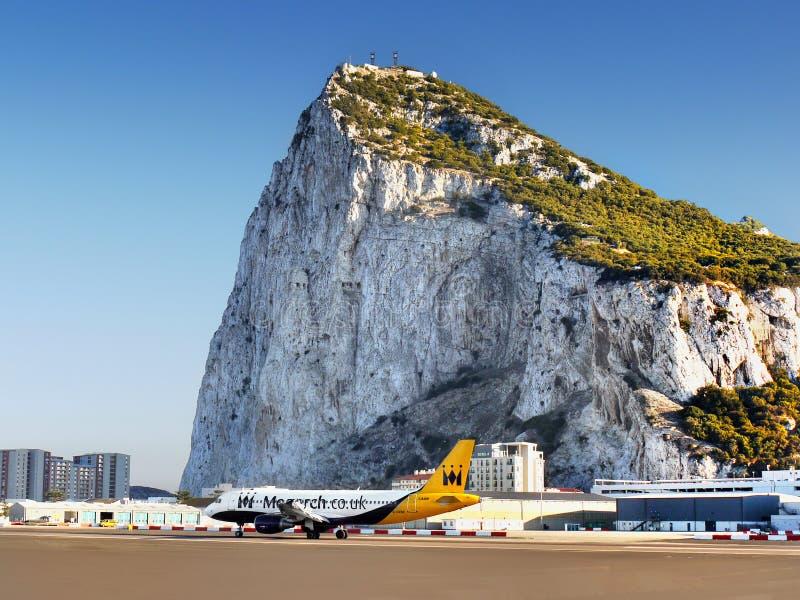 Roche du Gibraltar photographie stock