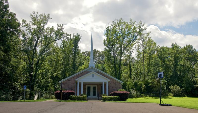 Roche en planche Baptist Church, Bartlett, TN photographie stock libre de droits