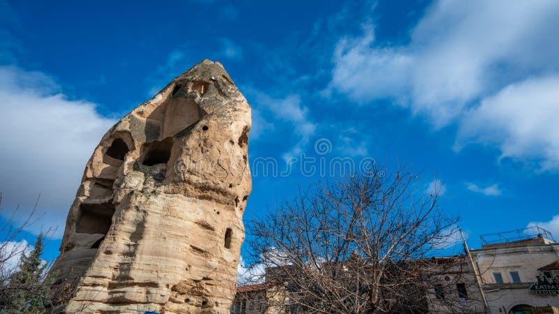 Roche Goreme en pierre dans Cappadocia, Turquie photographie stock
