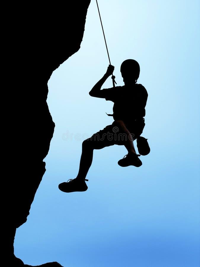 Roche-grimpeur photo stock