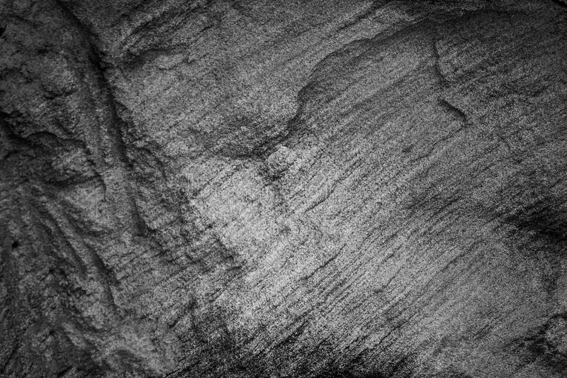 Roche noire photo libre de droits
