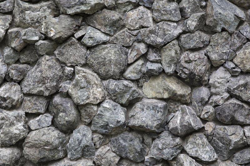 Roche, texture de fond de mur en pierre images libres de droits