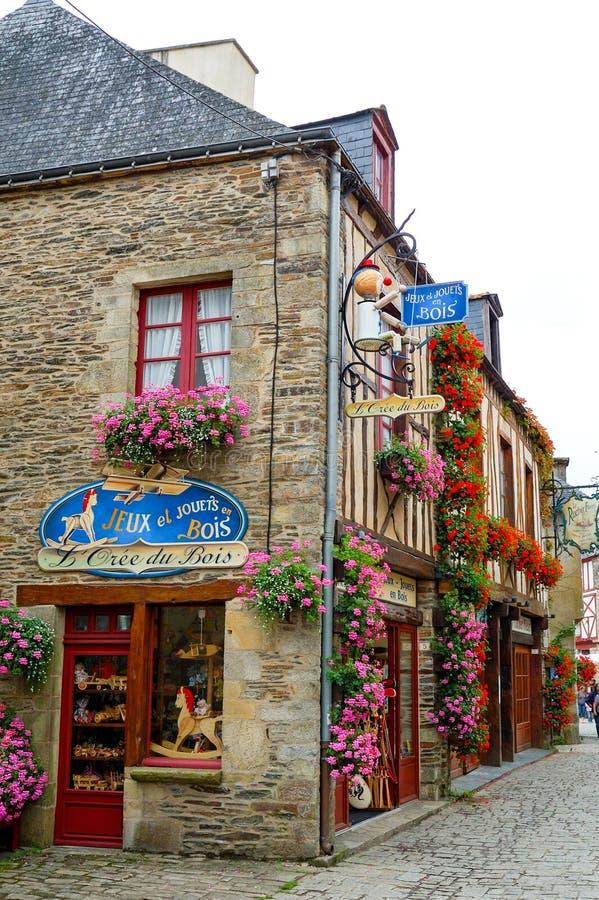 Rochefort-en-Terre photographie stock