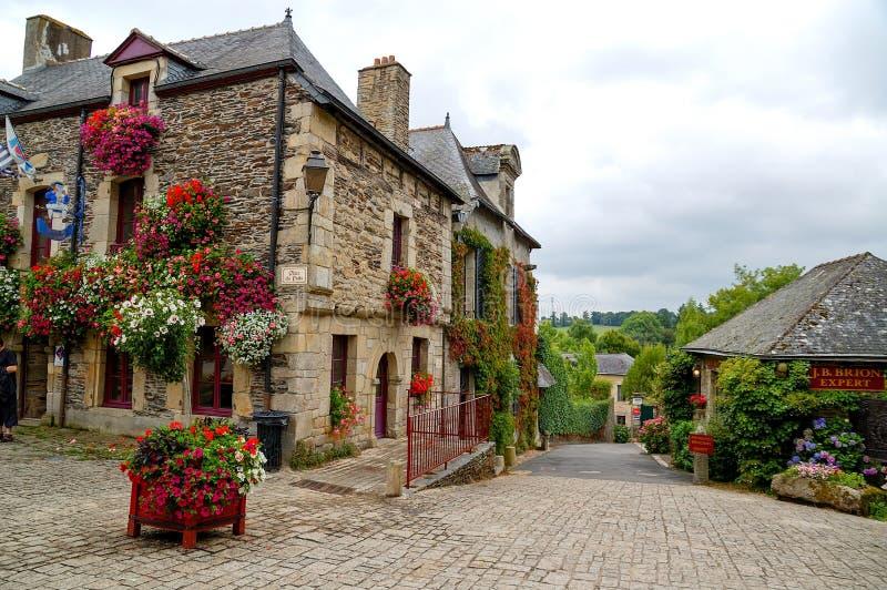 Rochefort-en-Terre стоковые изображения rf