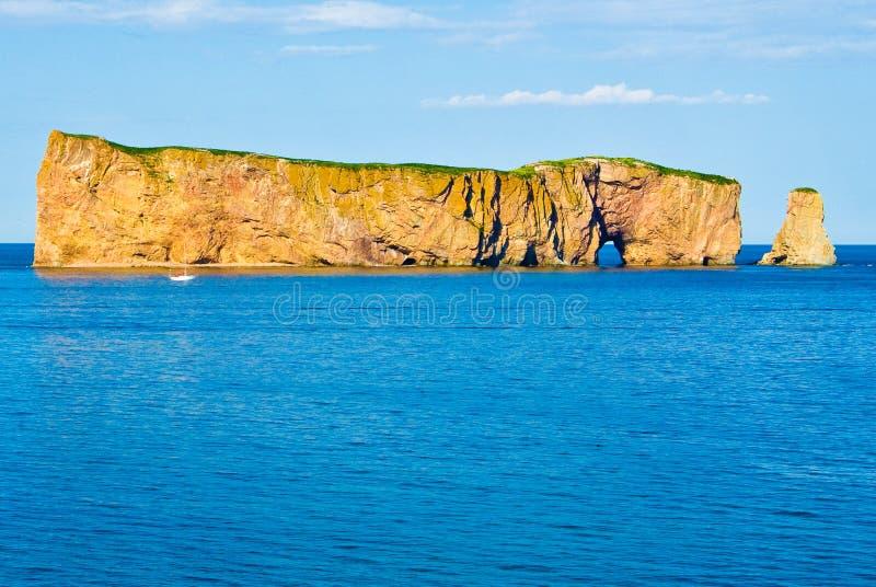 Rocher Perce, Quebec royalty free stock photos