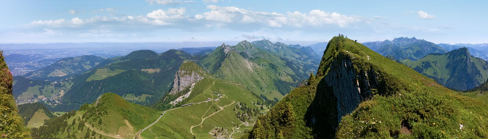 He Rochers de Naye are a mountain of the Swiss Alps, overlooking Lake Geneva. The Rochers de Naye French, lit. `rocks of Naye`; 2,042 metres 6,699 ft are a stock images