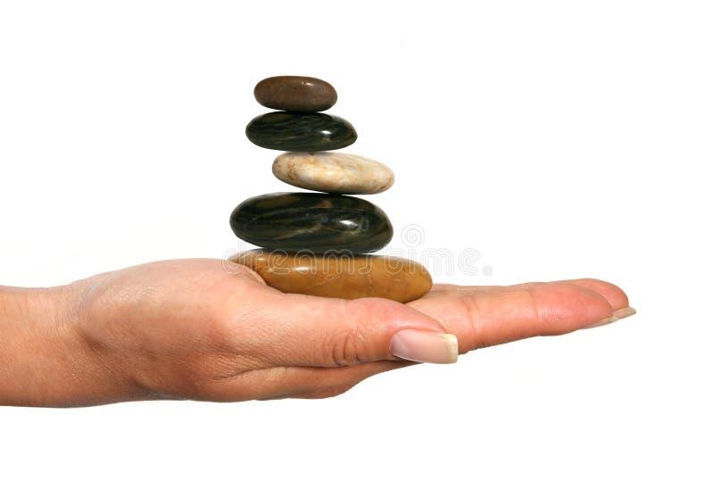 Roches équilibrées photo libre de droits