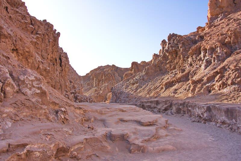 Roches au coucher du soleil dans Death Valley photo stock