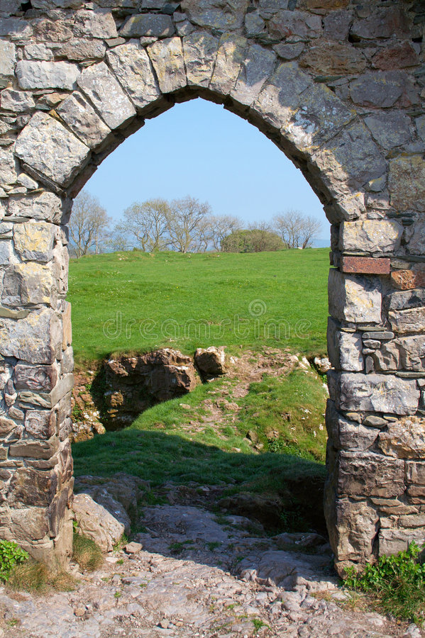 Free Roches Castle Doorway Royalty Free Stock Images - 2386869