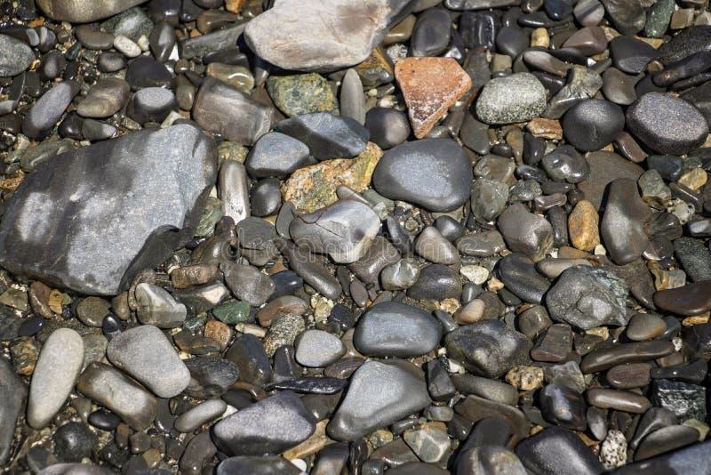 Roches d'océan de marée basse photographie stock libre de droits