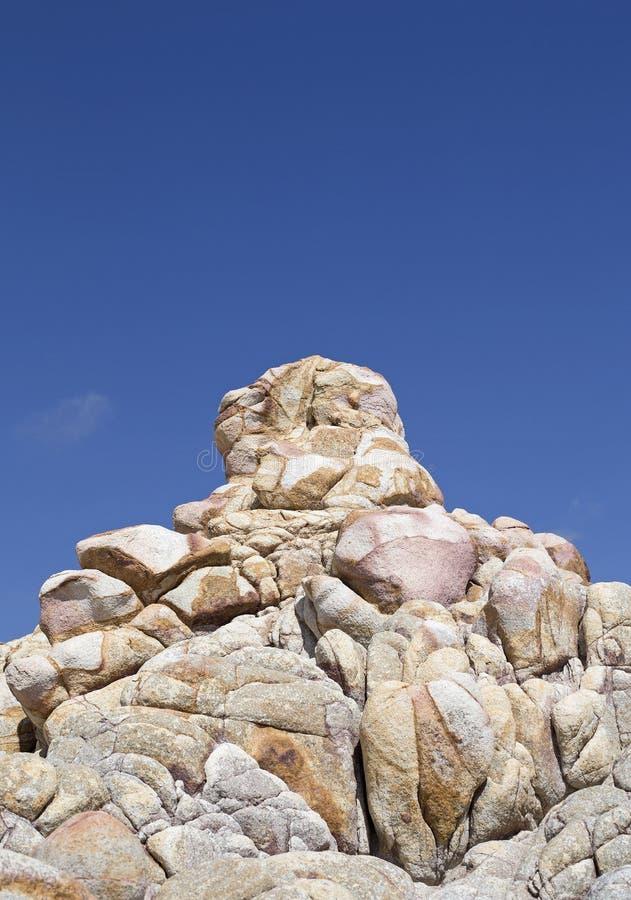 Roches de Basse-Californie photos libres de droits