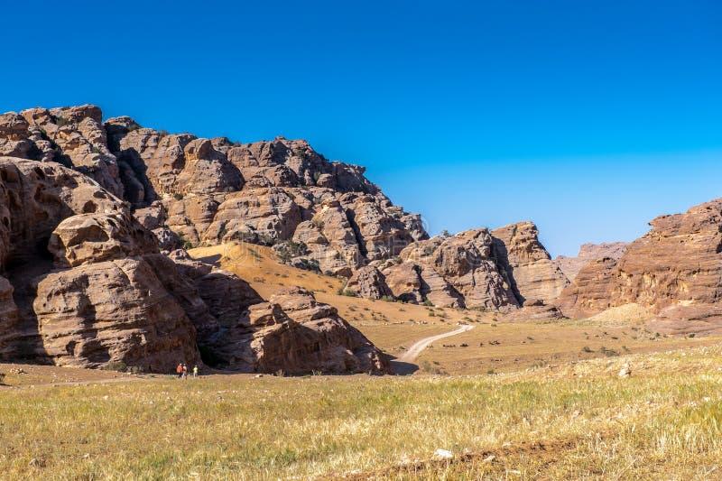 Roches de Beidha photos stock