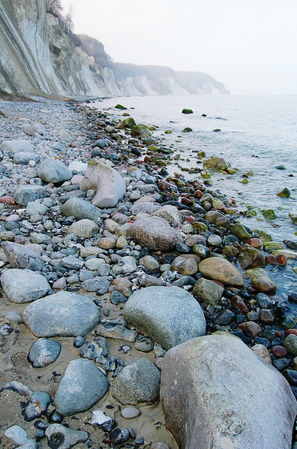 Download Roches De Falaise De Craie D'île De Rugen Au Parc National Jasmund Photo stock - Image du horizontal, baltique: 76078538