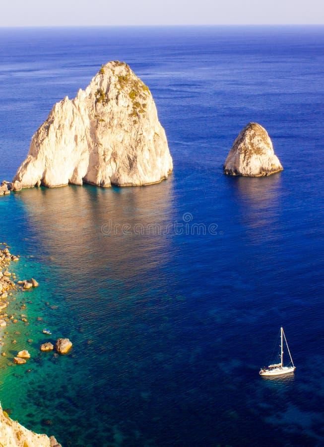 Roches de Faros photos stock