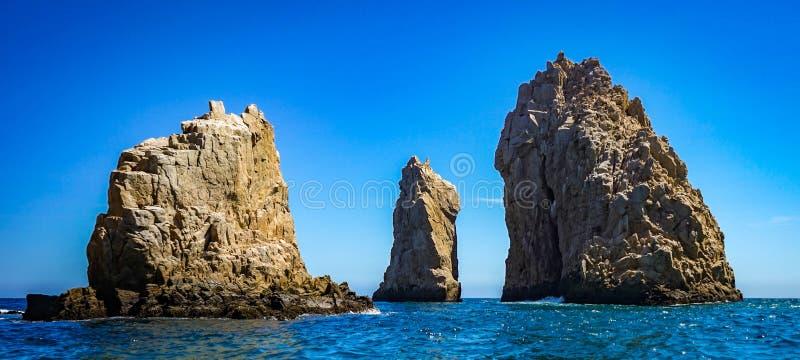 Roches de mer dans Cabo San Lucas photo libre de droits