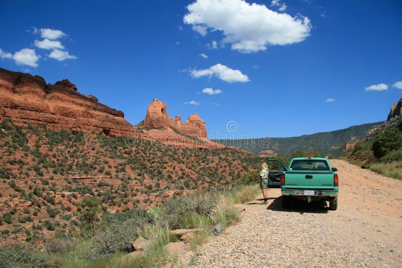Roches rouges dans Sedona, Arizona photo stock