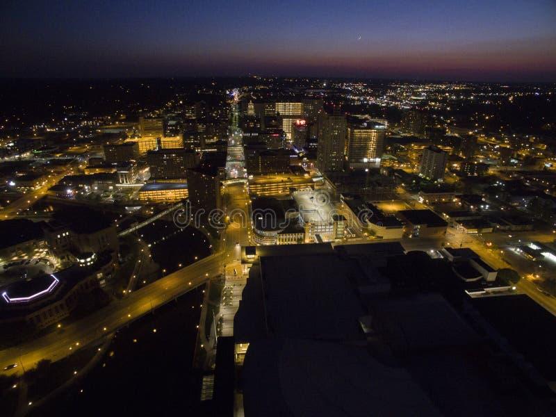 Rochester é Major City em Minnesota do sudeste centrado em torno dos cuidados médicos foto de stock royalty free