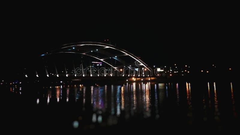 Rochester bridge stock image
