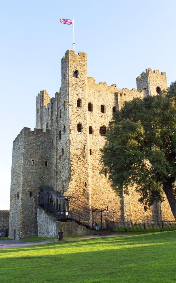 Rochester Castle Rochester Kent UK Stock Photo