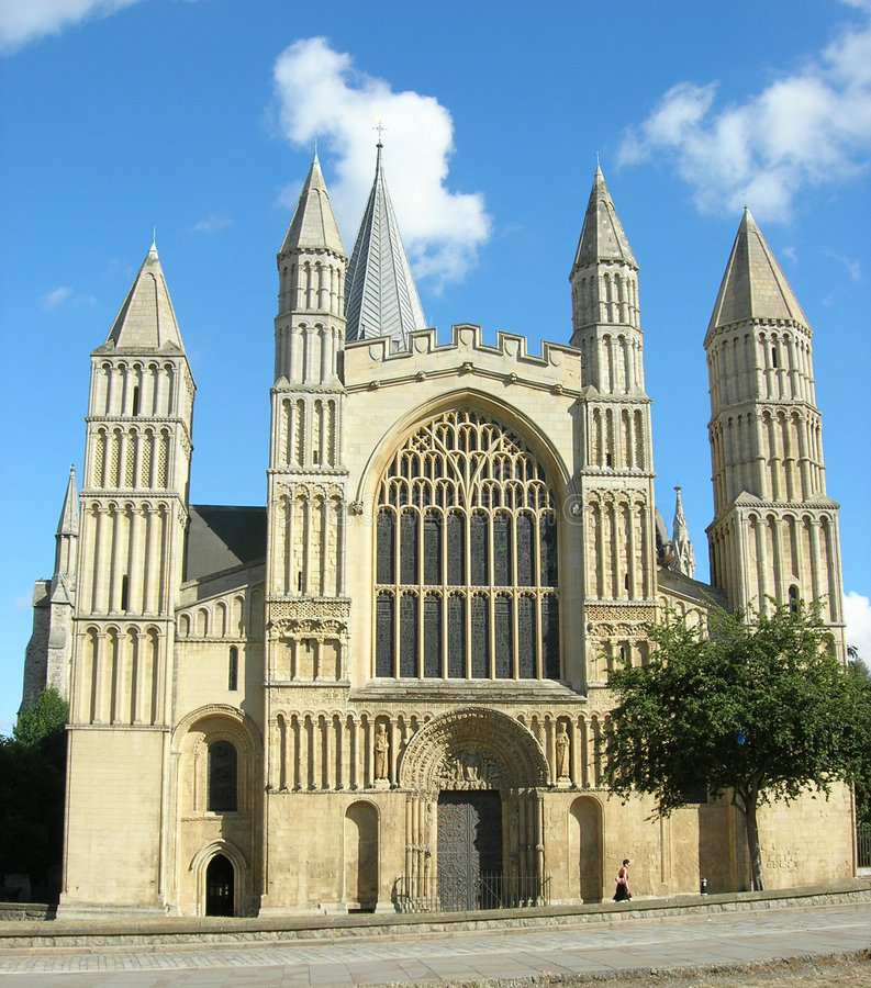 Rochester cathedral 1 royalty free stock image