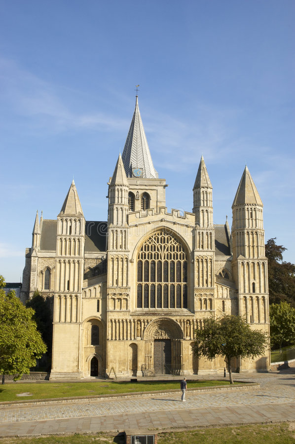 Rochester Cathedral royalty free stock images