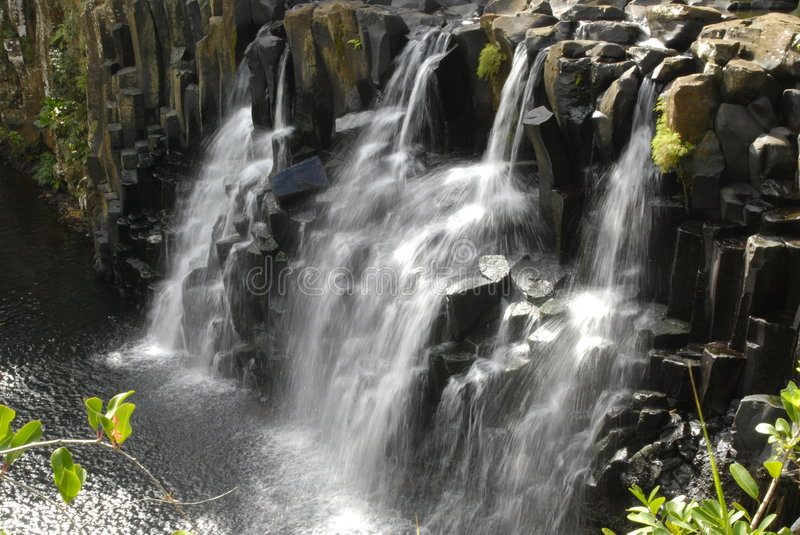Download Rochester Falls In Mauritius Stock Image - Image: 7496765