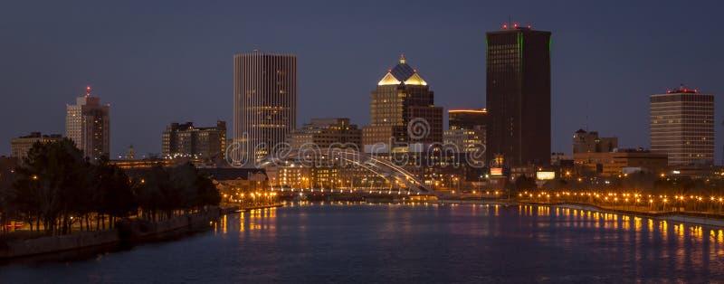 Rochester Nueva York céntrica imagen de archivo libre de regalías