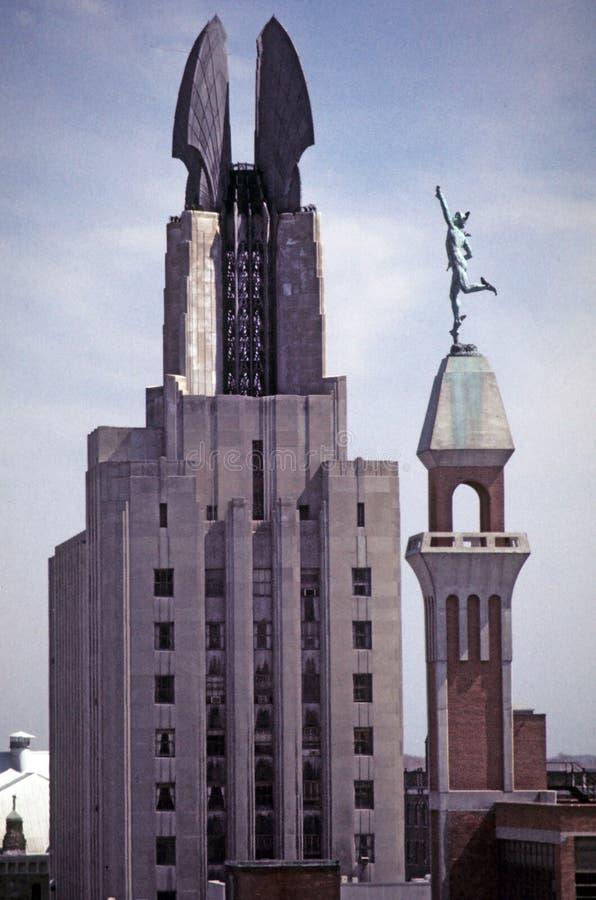 Download Rochester NY fotografia stock. Immagine di cemento, arte - 7314120